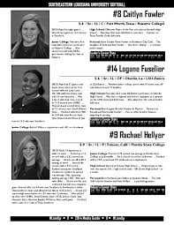 2014 Southeastern Louisiana Softball Media Guide by Southeastern Louisiana  University Athletics - issuu