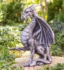 indoor outdoor meval dragon statue