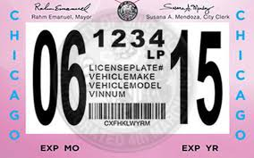 City To Crack Down On Chicago Motorists Who Don T Buy City Vehicle Stickers Chicago Tribune