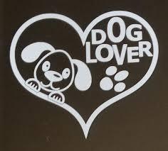 Dog Lover Car Decal Window Decal Wall Decal Bumper Sticker Etsy