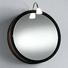 round mirror bathroom cabinet