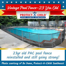 Introducing Our Vintage Pool Fence Protect A Child Pool Fence Facebook