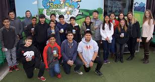 WAMS students learn about agriculture with a visit from the Seed Survivor  mobile classroom - The Sanger Scene