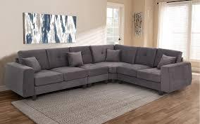 royaloak marko corner sofa with fabric