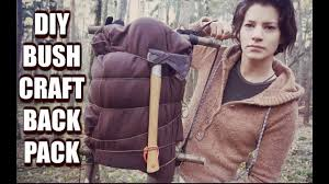 how to make your own bushcraft backpack