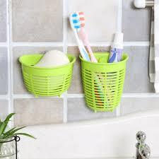 bathroom toothbrush toothpaste holder