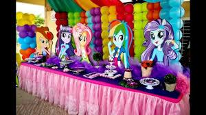 Fiesta Tematica De My Little Pony Equestria Girl Equestria Girl Party Youtube