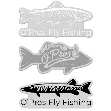 O Pros Fish Decals O Pros Fly Fishing