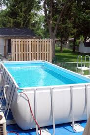 Intex 24 X 12 X 52 Rectangle Swimming Pool Intex Swimming Pool Rectangle Swimming Pools Swimming Pools