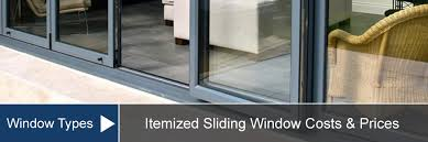 sliding and gliding windows cost for