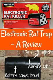 is an electric rat trap effective i