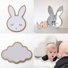 wall decor mirror for baby room