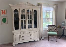 dining room china cabinet repurposed