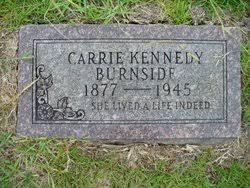 Carrie Ada Kennedy Burnside (1877-1945) - Find A Grave Memorial