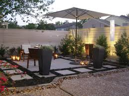 bamboo candle holders patio