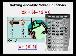 solving absolute value equations with