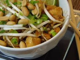 recette de pad thai au poulet sucré
