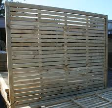 Slatted Panels Contemporary Fencing Design Devon And Cornwall