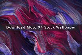moto x4 stock wallpapers on