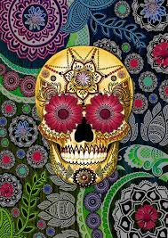 mexican skull wallpaper rg5y6ec