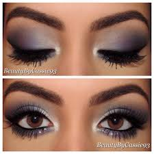 makeup for navy blue prom dress