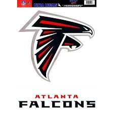Atlanta Falcons Official Logo 11x17 Ultra Decal Window Cling By Wincraft 3 50 In Stock Removable Atlanta Falcons Logo Atlanta Falcons Atlanta Falcons Decal
