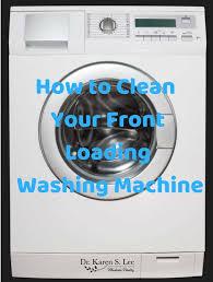 smelly front loading washing machine