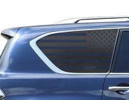Usa Flag Decals Fits Nissan Armada Side Window 2017 2018 Limited Na1 Ebay