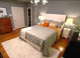gray and orange bedding contemporary