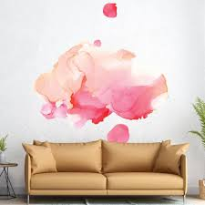 Picture Perfect Decals Abstract Alcohol Ink Removable Wall Decal