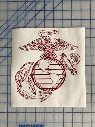 Excited To Share This Item From My Etsy Shop Military Us Marine Corps Vinyl Decal Usmc Car Truck Usmc Window Cus Custom Vinyl Decal Custom Vinyl Vinyl Decals