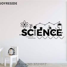 joyreside education science wall decal quotes wall sticker
