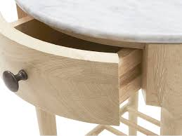 mini marmo side table marble top side