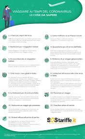 Coronavirus e viaggi: 13 cose da conoscere prima di partire ...