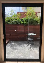 folding glass doors windows