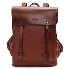 pu leather laptop bags school bag