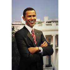 Framed Art For Your Wall Obama Usa President White Person Barack Obama Man 10x13 Frame Walmart Com Walmart Com