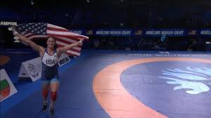 Adeline Gray breaks U.S. record with fifth world wrestling title -  OlympicTalk | NBC Sports