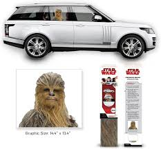 Amazon Com Fanwraps Star Wars The Last Jedi Chewbacca Passenger Series Window Decal Sunlight Diffusing Decal Toys Games