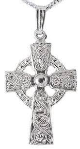 celtic cross necklace