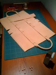 leather bag constructions at home レザ