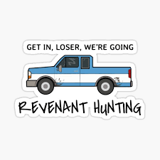Get In Loser Stickers Redbubble