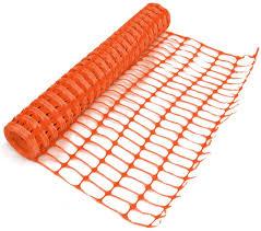 Amazon Com True Products B1003a 5 5 Kg 1 M X 50 M Medium Plastic Mesh Safety Netting Barrier Fencing Roll Orange 1 Piece Garden Outdoor