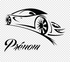 Sports Car Wall Decal Ferrari Car Text Logo Png Pngegg