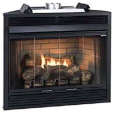 deluxe b vent ip louver fireplace