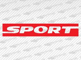 Jeep Sport Decal Stickers