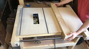 Table Saw Fence Rail Youtube