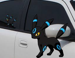 Umbreon Eevee Shiny Pokemon Decal 3 Or 6 Inch Laptop Etsy