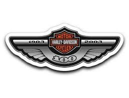 Harley Davidson 100th 105th 110th Anniversary Helmet Tank Sticker Decals New