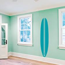Retro Surfboard Wall Decal Vintage Surfboard Wall Sticker